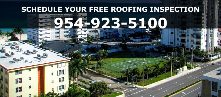 Hollywood Florida roofing contractors - Universal Roofing 954-923-5100