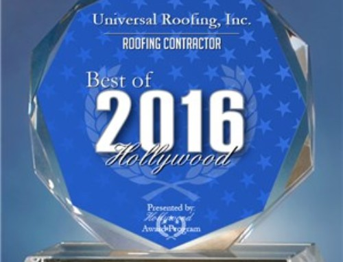 Best Roofing Contractor in Hollywood, Florida Award